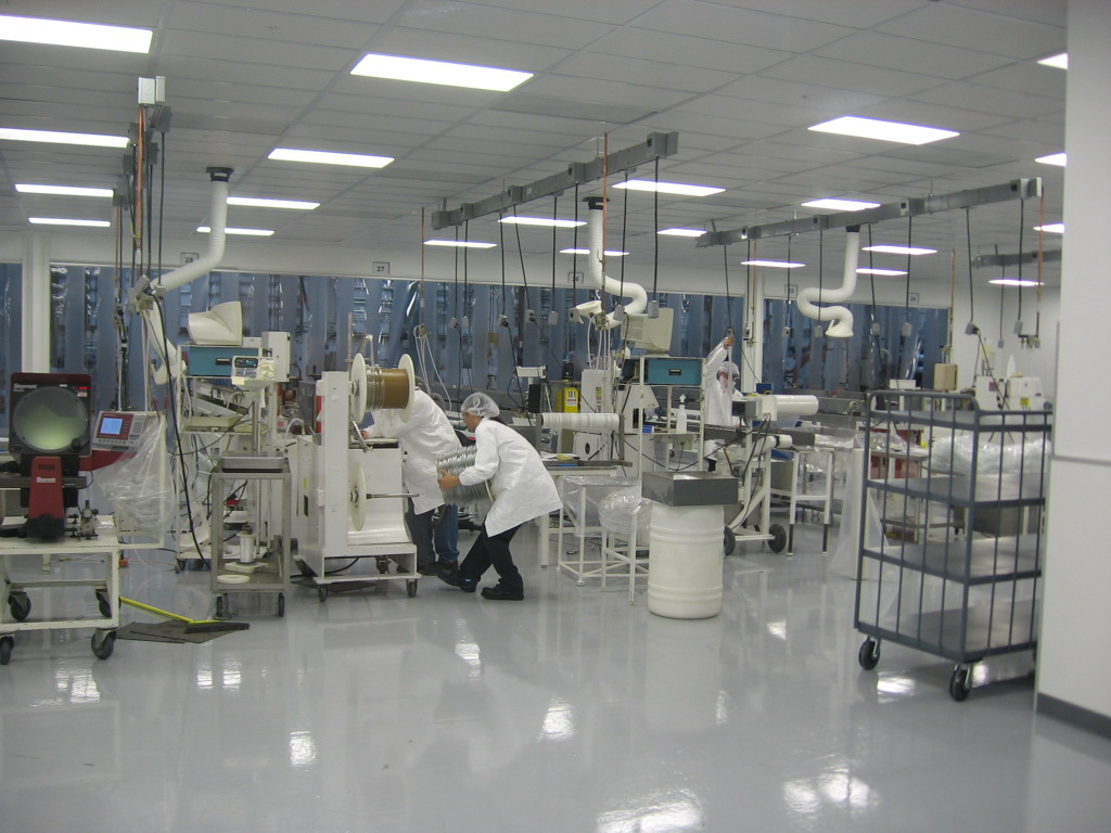 Filtrona Hodess Cleanroom Construction