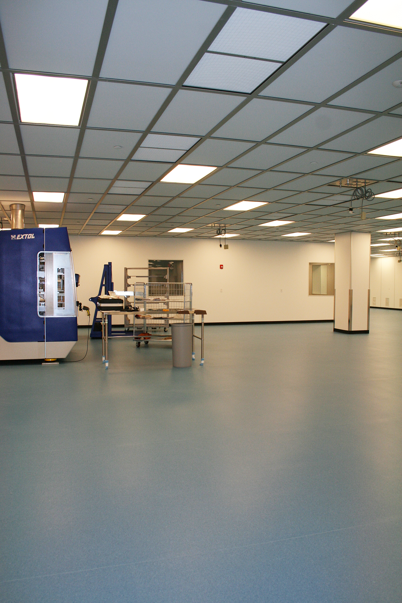 Millipore Mobius Iii Hodess Cleanroom Construction