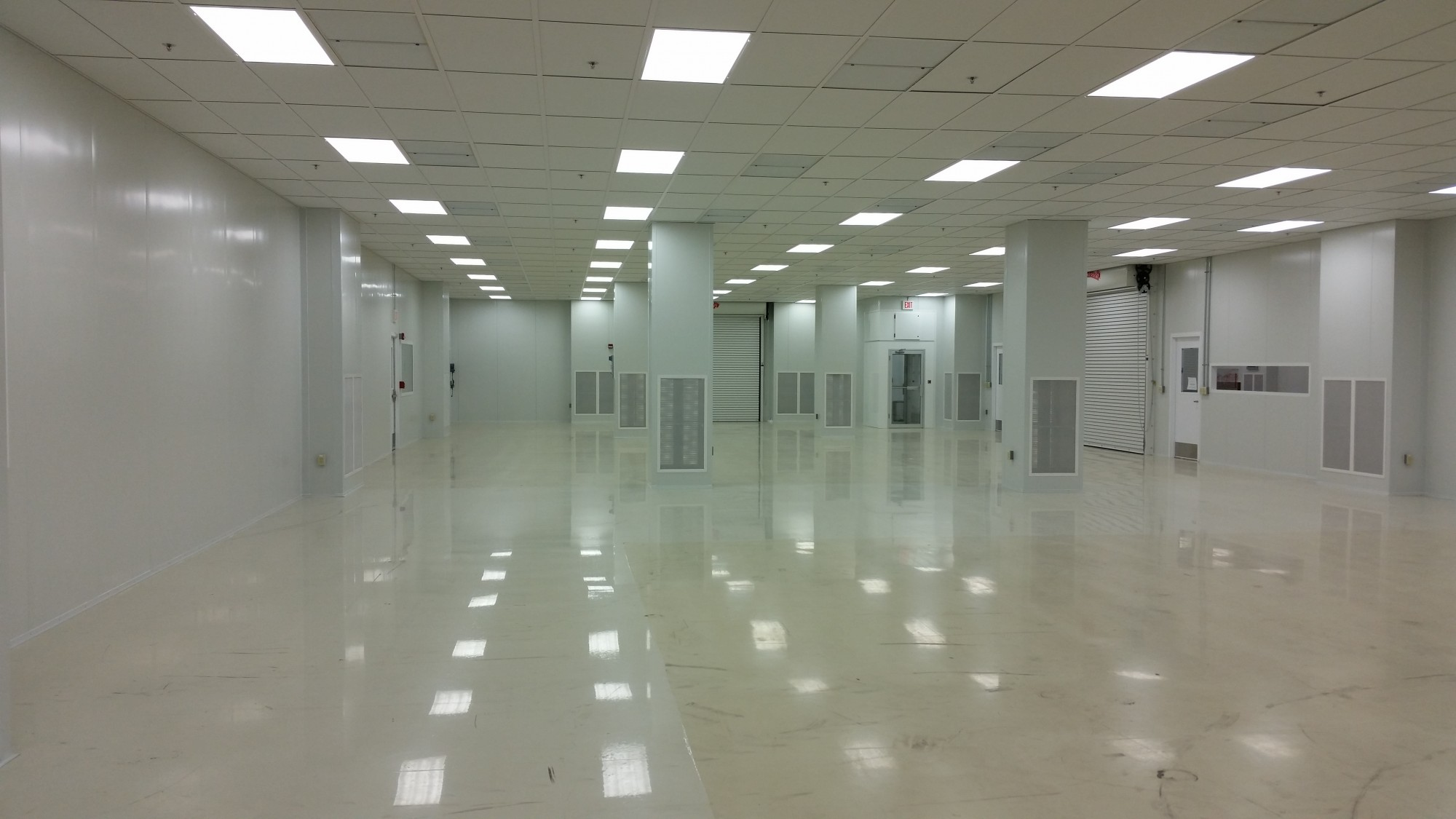 Pittsburgh Glass Works Hodess Cleanroom Construction